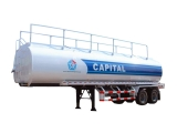 2-axle Oil Semi Trailer